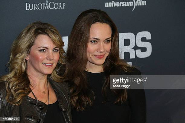 Louise Behr and Sarah Maria Besgen attend the premiere of the film '96 Hours Taken 3' at Zoo Palast on December 16 2014 in Berlin Germany