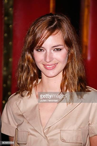 Louise Bourgoin attends 'Le Petit Nicolas' Paris premiere at Le Grand Rex on September 20 2009 in Paris France