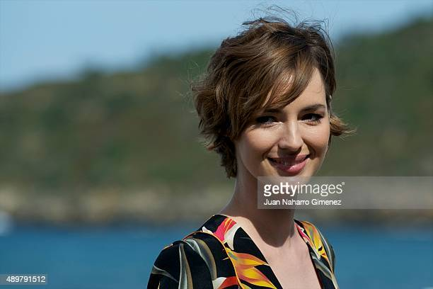 Louise Bourgoin attends 'Les Chevaliers Blancs' photocall during 63rd San Sebastian Film Festival on September 24 2015 in San Sebastian Spain