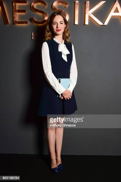 Louise Bourgoin attends Messika cocktail as part of the Paris Fashion Week Womenswear Spring/Summer 2018 on September 27 2017 in Paris France