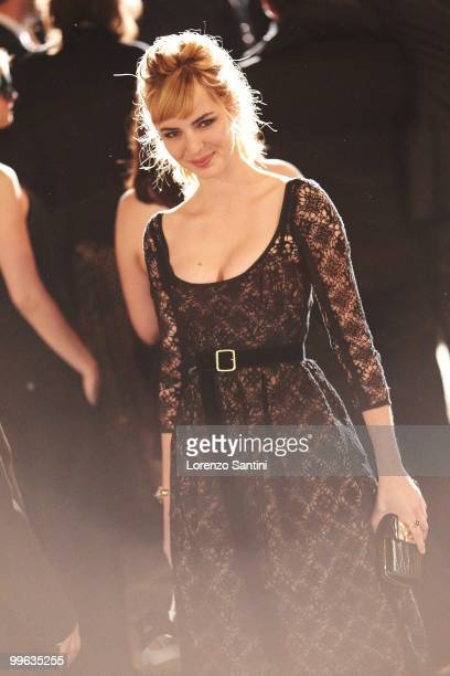 Louise Bourgoin attends the 'Black Heaven' Premiere held at the Palais des Festivals on May 16 2010 in Cannes France