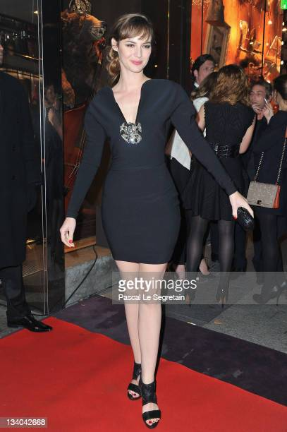 Louise Bourgoin attends the Lancel Celebrates '135 Years Of French Legerete' Hosted By Sienna Miller on November 24 2011 in Paris France