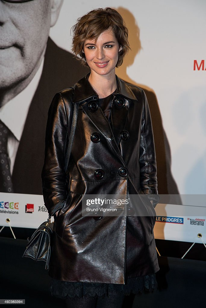 Louise Bourgoin attends the Opening Ceremony of the 7th Film Festival Lumiere on October 12, 2015 in Lyon, France.