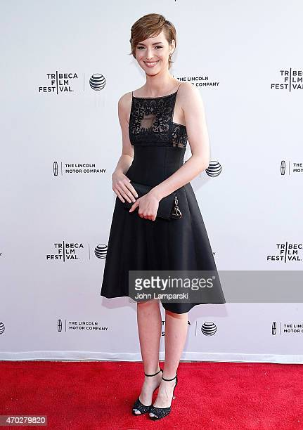 Louise Bourgoin attends World Premiere Narrative 'Mojave' during the 2015 Tribeca Film Festival at SVA Theatre 1 on April 18 2015 in New York City