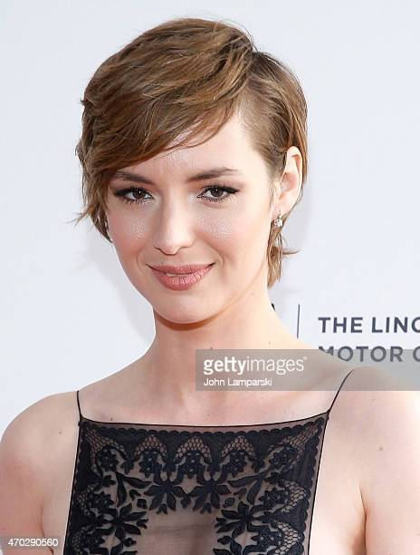 Louise Bourgoin attends World Premiere Narrative Mojave during the 2015 Tribeca Film Festival at SVA Theatre 1 on April 18 2015 in New York City