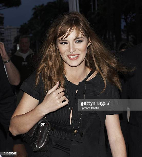 Louise Bourgoin sighting at the 61st Cannes International Film Festival on May 19