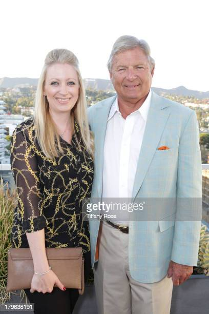 Louise Bristow and Charles Ward attend the Auto Gallery Event at the residences at W Hollywood on September 5 2013 in Hollywood California