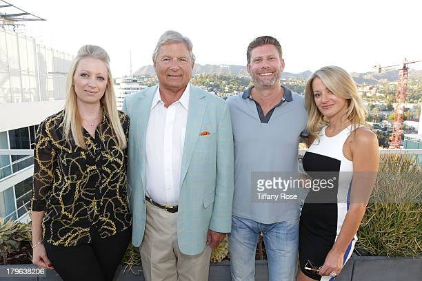 Louise Bristow Charles Ward Jason Kosova and Jennifer Kosova attend the Auto Gallery Event at the residences at W Hollywood on September 5 2013 in...