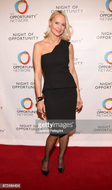Louise Camuto attends The Opportunity Network's 10th Annual Night of Opportunity Gala at Cipriani Wall Street on April 24 2017 in New York City