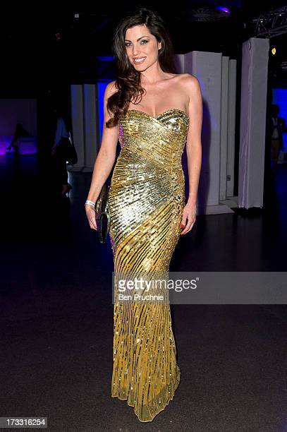 Louise Cliffe attends the Infiniti Gate Experience party at the London Film Museum on July 11 2013 in London England