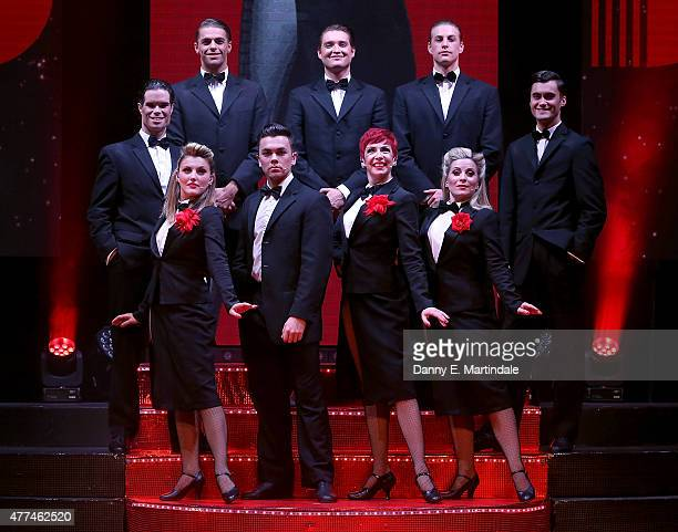 Louise Dearman Rachel Stanley Georgina Hagen and Ray Quinn attends a photocall for Judy The Songbook of Judy Garland at New Wimbledon Theatre on June...