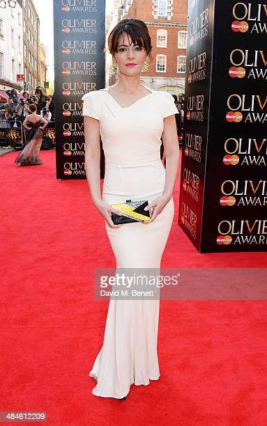 Louise Delamere attends the Laurence Olivier Awards at The Royal Opera House on April 13 2014 in London England
