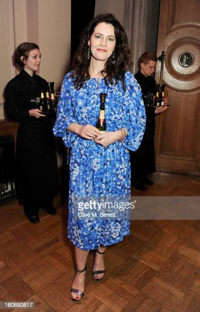 Louise Delamere attends the London Evening Standard British Film Awards supported by Moet Chandon and Chopard at the London Film Museum on February 4...