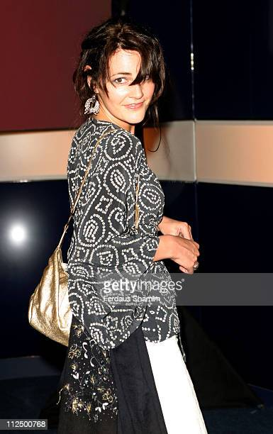 Louise Delamere during Hell's Kitchen II - Day 14 - Arrivals at Atlantis Building in London, Great Britain.