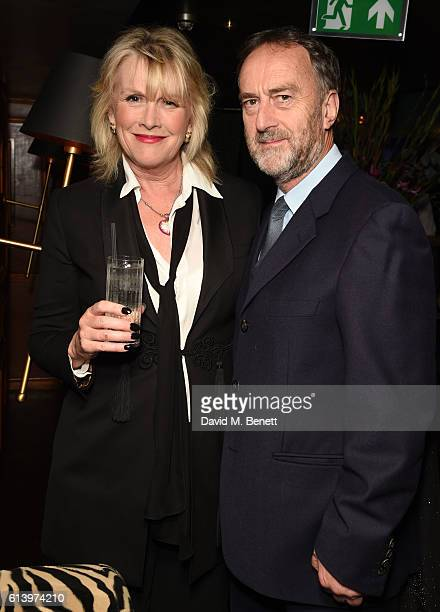 Louise Fennell and Angus Deayton attend the launch of 'Desire 100 Of Literature's Sexiest Stories' hosted by Tatler and selected by Mariella Frostrup...