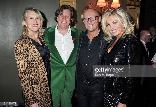 Louise Fennell Theo Fennell John Caudwell and Claire Johnson attend the Supper Club 2011 after party in aid of Terrence Higgins Trust supported by...