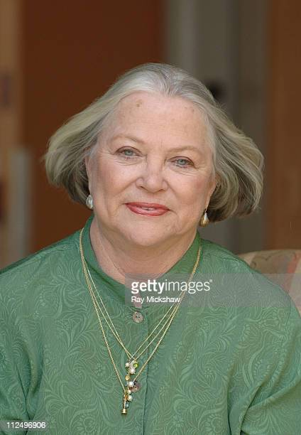 Louise Fletcher during 10th Annual Palm Beach International Film Festival Louise Fletcher Portraits at Gulfstream Hotel in Palm Beach Florida United...