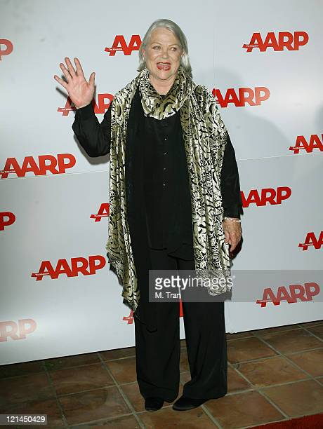 Louise Fletcher during AARP The Magazine Toasts 2007 Movies For Grownups Awards Winners at Hotel BelAir in Los Angeles California United States