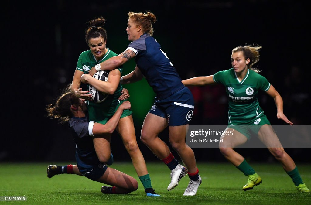 Rugby X At The O2 Arena : News Photo
