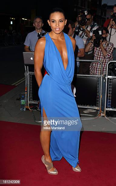 Louise Hazel attends GQ Men of the Year Awards at The Royal Opera House on September 4 2012 in London England