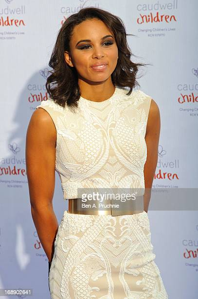 Louise Hazel attends The Butterfly Ball A Sensory Experience in aid of the Caudwell Children's charity at Battersea Evolution on May 16 2013 in...