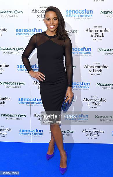 Louise Hazel attends the SeriousFun Children's Network London Gala at The Roundhouse on November 3 2015 in London England