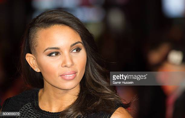 Louise Hazel attends the UK Film Premiere of 'Daddy's Home'at Vue West End on December 9 2015 in London England