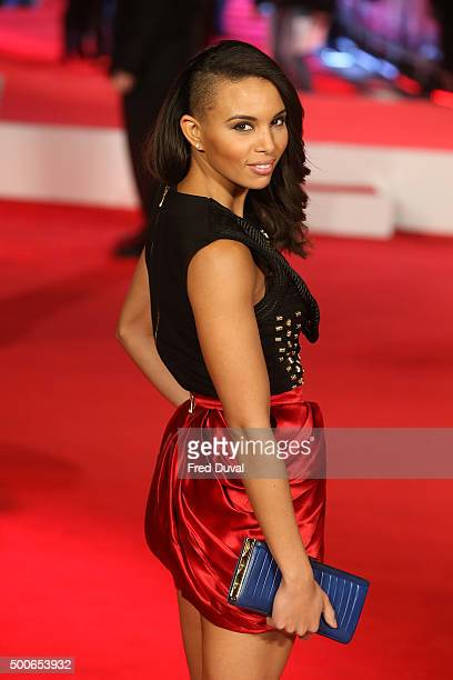 Louise Hazel attends the UK Premiere of 'Daddy's Home' at Vue West End on December 9 2015 in London England
