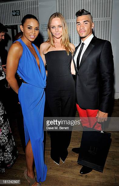Louise Hazel Stella McCartney and Louis Smith attend an afterparty following the GQ Men Of The Year Awards 2012 at The Royal Opera House on September...