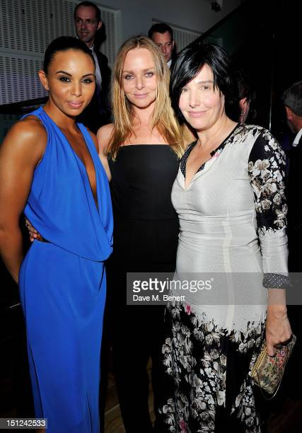Louise Hazel Stella McCartney and Sharleen Spiteri attend an afterparty following the GQ Men Of The Year Awards 2012 at The Royal Opera House on...