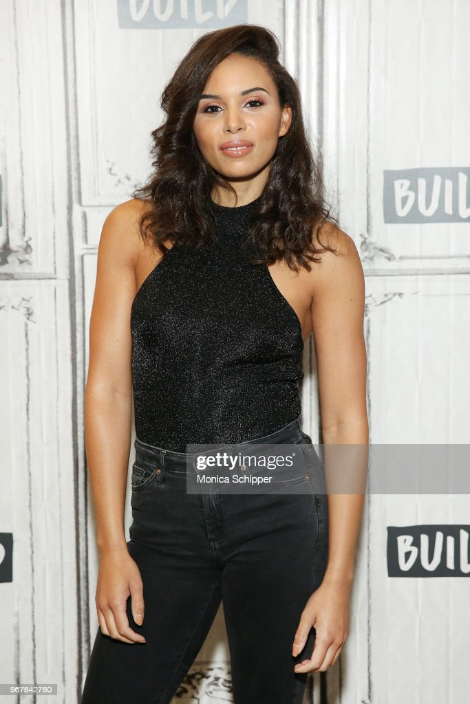 Louise Hazel visits Build Studio to discuss the television show 'The Challenge: Champs vs. Stars' on June 5, 2018 in New York City.