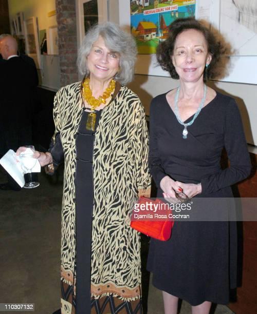 Louise Kerz Hirschfeld and Gertrude C during New York Studio School Benefit Gala October 19 2006 at Prince George Ballroom in New York City New York...