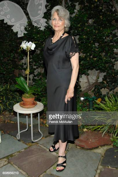 Louise Kerz Hirschfeld attends JENNIFER BERGHAUS private collection Fashion Launch Party at The Al Hirschfeld Townhouse on August 12 2009 in New York...