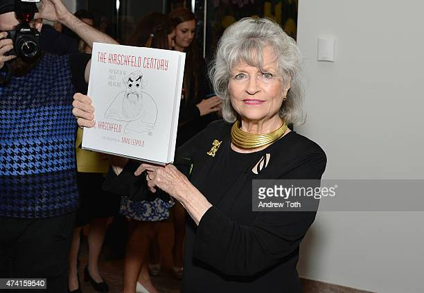 Louise Kerz Hirschfeld attends The Hirschfeld Century The Art of Al Hirschfeld Reception at NewYork Historical Society on May 20 2015 in New York City