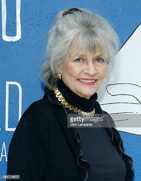 Louise Kerz Hirschfeld attends the VIP reception of The Line King Al Hirschfeld At The New York Public Library at The New York Public Library on...