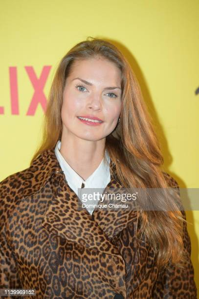 Louise Kugelberg attends At Eternity's Gate Photocall at Musee du Louvre on April 02 2019 in Paris France