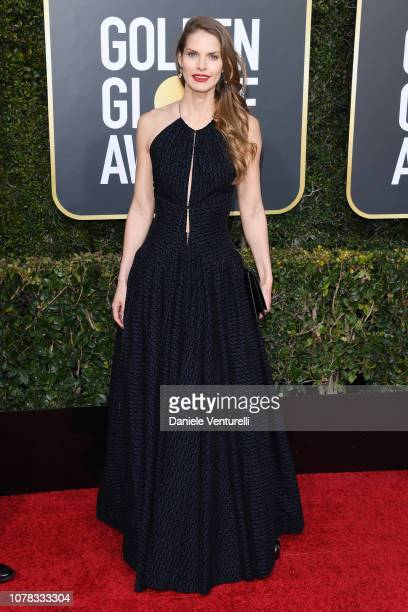 Louise Kugelberg attends the 76th Annual Golden Globe Awards at The Beverly Hilton Hotel on January 6 2019 in Beverly Hills California