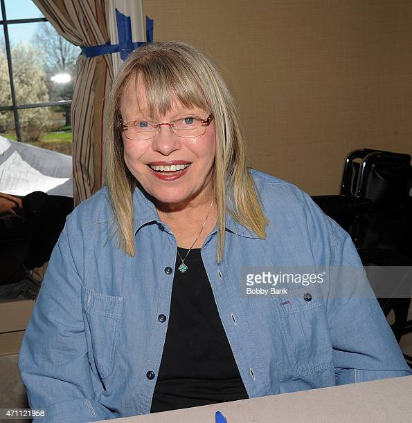 Louise Lasser attends day 2 of the Chiller Theater Expo at Sheraton Parsippany Hotel on April 25 2015 in Parsippany New Jersey