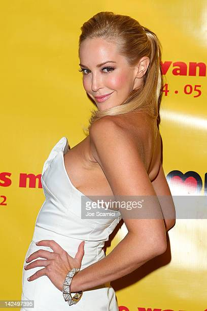 Louise Linton arrives at the 'She Wants Me' Los Angeles Premiere at Laemmle's Music Hall 3 on April 5 2012 in Beverly Hills California
