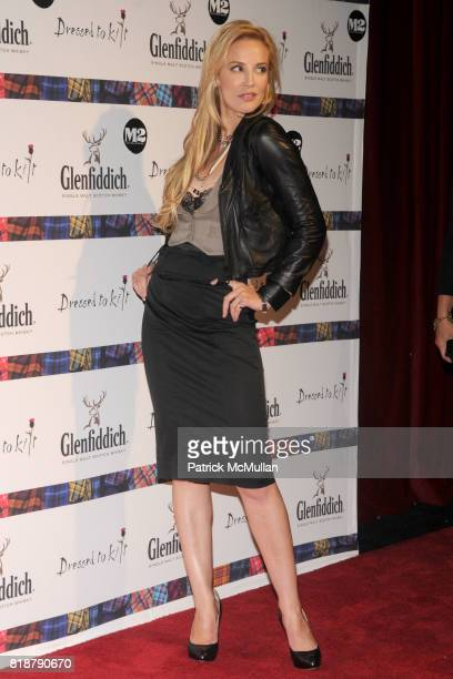 Louise Linton attends GLENFIDDICH Presents DRESSED TO KILT at M2 Ultra Lounge on April 5 2010 in New York City
