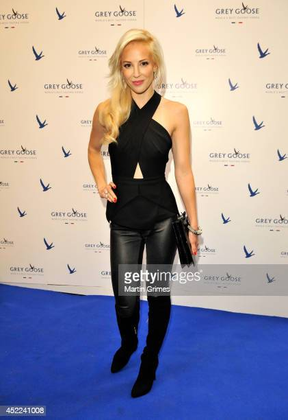 Louise Linton attends GREY GOOSE Le Martini et Vous evening at Devil's Advocate on July 16, 2014 in Edinburgh, Scotland.