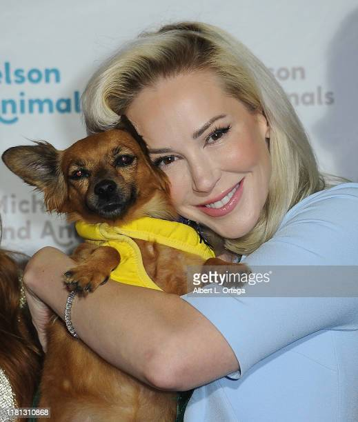 Louise Linton attends the 8th Annual Michelson Found Animals Foundation Gala held at SLS Hotel on October 5, 2019 in Beverly Hills, California.