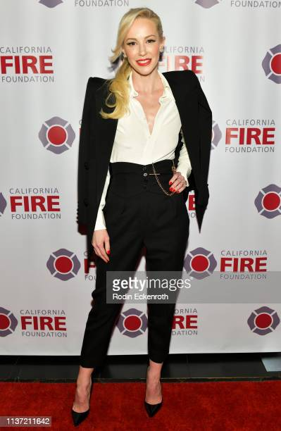 "Louise Linton attends the California Fire Foundation 6th Annual Gala - ""Celebrating Uncommon Courage"" at Avalon Hollywood on March 20, 2019 in Los..."