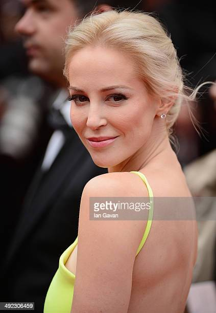 Louise Linton attends the Foxcatcher premiere during the 67th Annual Cannes Film Festival on May 19 2014 in Cannes France