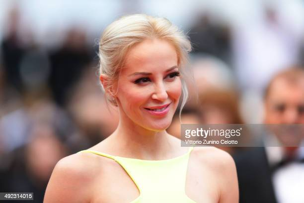 Louise Linton attends the 'Foxcatcher' premiere during the 67th Annual Cannes Film Festival on May 19 2014 in Cannes France