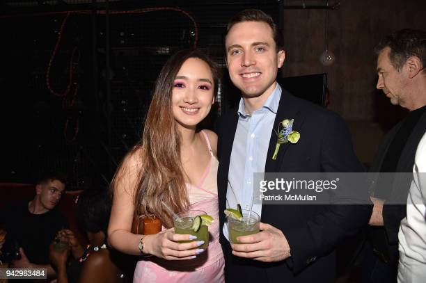 Louise Lui and Colton Klein attend the Spring Party to benefit Aperture and to celebrate The Photographer in the Garden at Public Hotel on April 6...