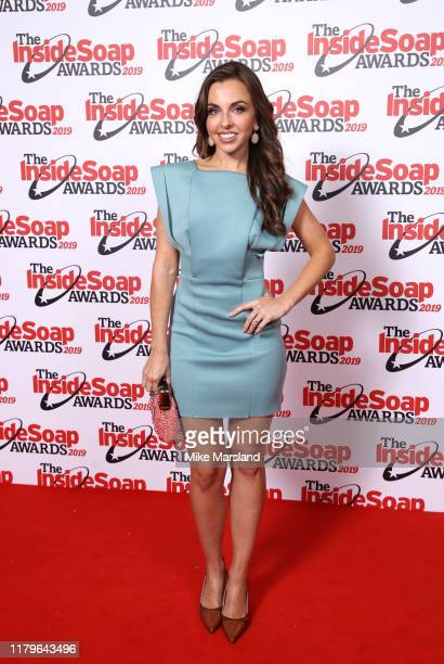 Louise Lytton attends the Inside Soap Awards at Sway on October 07 2019 in London England
