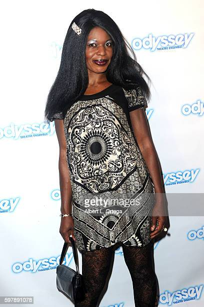 Louise MBella arrives for the Reading Of 'The Blade Of Jealousy/La Celsa De Misma' held at The Odyssey Theatre on August 29 2016 in Los Angeles...