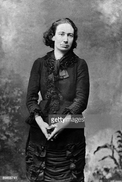 Louise Michel french anarchist and socialist activist who took part in the Commune 1871