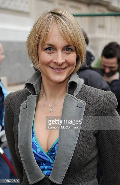 Louise Minchin arrives at BAFTA nomination lunch hosted by Momentum Pictures at Corinthia Hotel London on February 12 2011 in London England